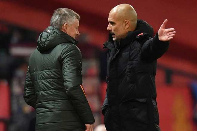 Hừng hực derby Man City đấu MU, Solskjaer chê tài cầm quân của Guardiola - 1