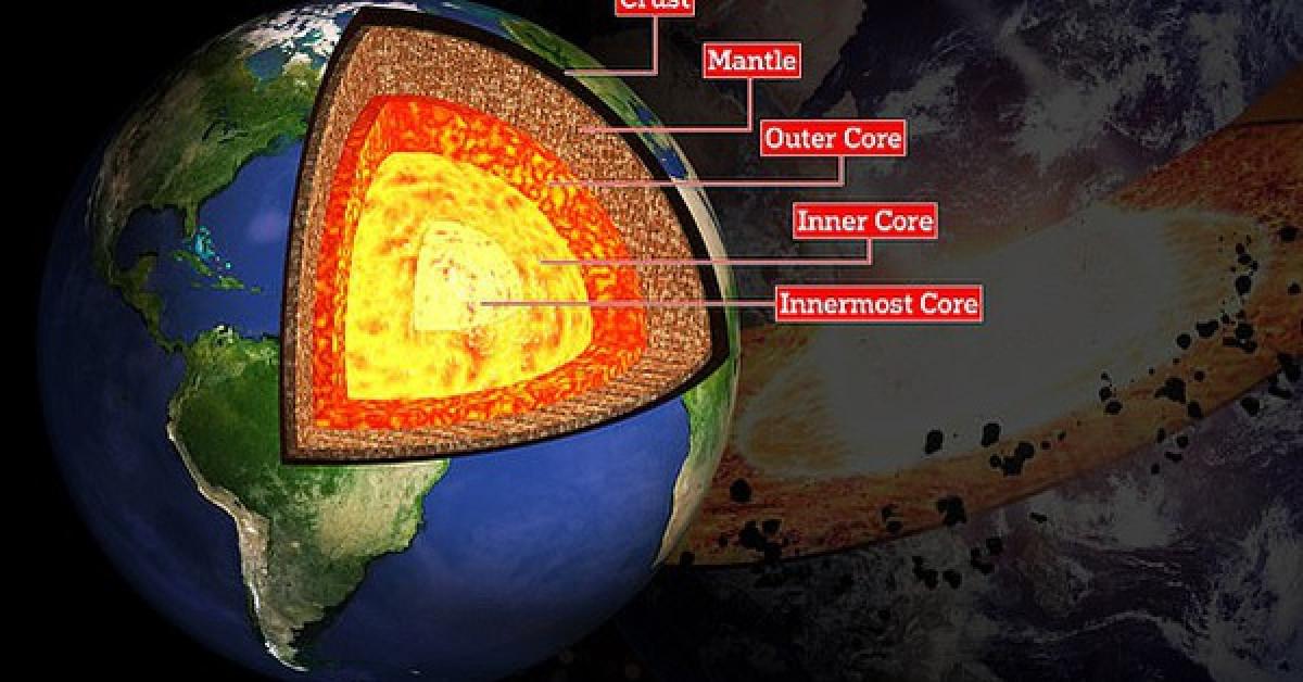 Sốc: Phát hiện một lớp vật chất hoàn toàn mới của Trái Đất - 1
