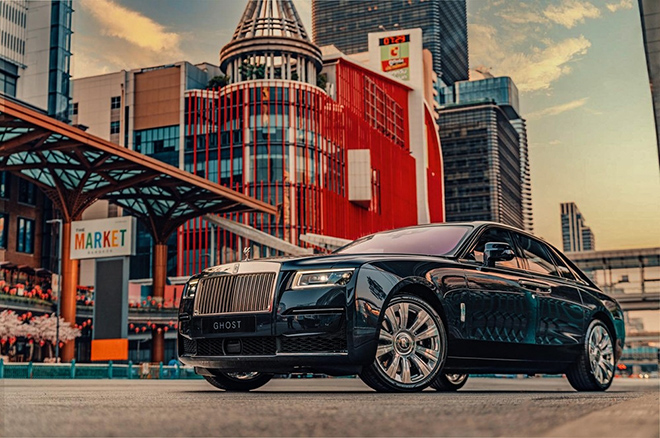 Rolls-Royce Ghost thế hệ mới ra mắt tại Thái Lan, giá triệu đô - 1