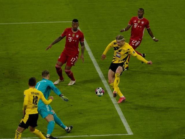 Video Bayern Munich - Dortmund: Lewandowski che mờ Haaland, mãn nhãn 6 bàn - 1