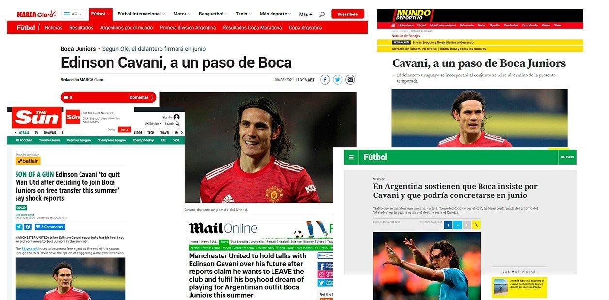SỐC: Cavani quyết định chia tay MU, báo Argentina tiết lộ điểm đến mới - 2