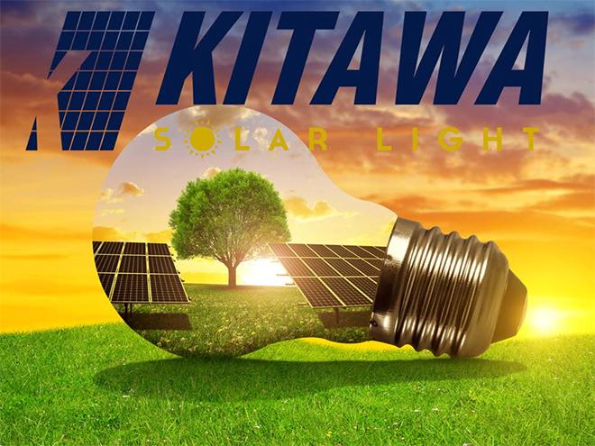 Kitawa - thương hiệu uy tín cung cấp hệ thống tấm pin và đèn năng lượng mặt trời - 1