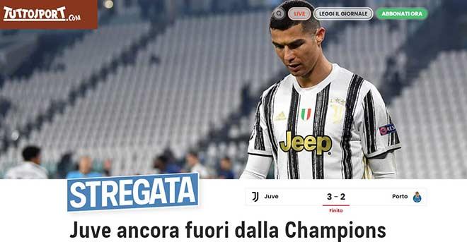 Juventus bị loại khỏi Cúp C1: Ronaldo bị chỉ trích, sếp lớn bất ngờ nói về tương lai CR7 - 1