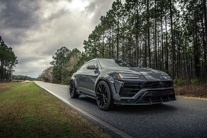 Siêu bò Lamborghini Urus biến hóa độc lạ với gói độ bodykit Green Urnet - 1