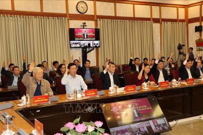 Giới thiệu Tổng Bí thư Nguyễn Phú Trọng ứng cử đại biểu Quốc hội khóa XV - 1