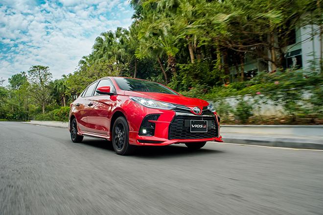 Đánh giá nhanh Toyota Vios 2021 bản thể thao GR-S giá 638 triệu đồng - 1
