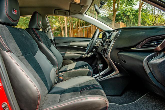 Đánh giá nhanh Toyota Vios 2021 bản thể thao GR-S giá 638 triệu đồng - 8