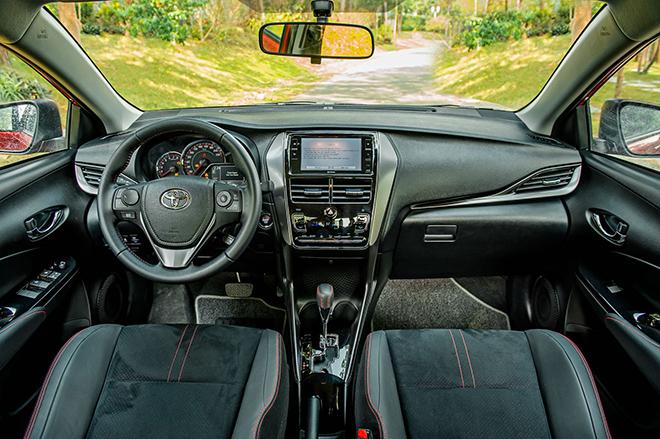 Đánh giá nhanh Toyota Vios 2021 bản thể thao GR-S giá 638 triệu đồng - 9