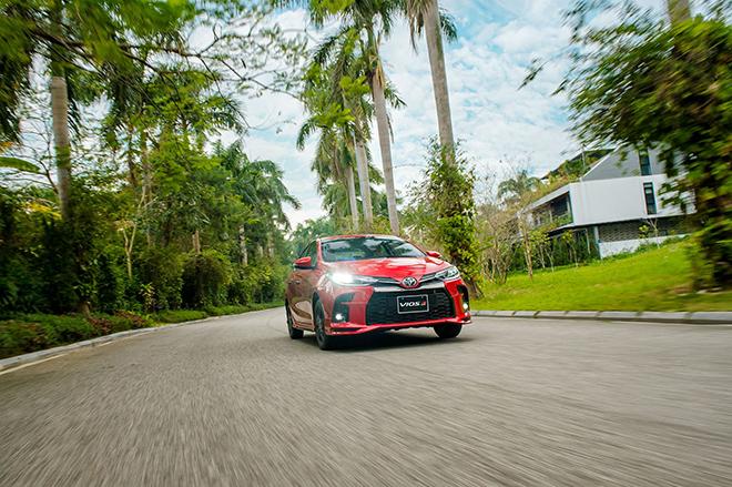 Đánh giá nhanh Toyota Vios 2021 bản thể thao GR-S giá 638 triệu đồng - 13