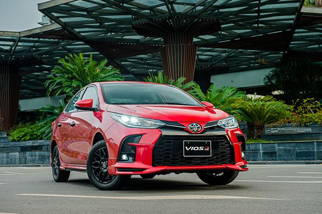 Đánh giá nhanh Toyota Vios 2021 bản thể thao GR-S giá 638 triệu đồng - 15