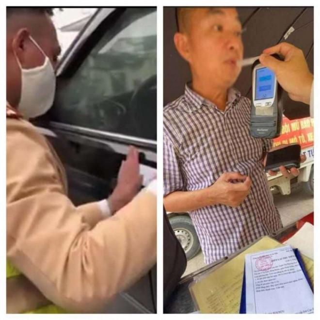 """""""Dính"""" nồng độ cồn khủng, lái xe ô tô nói """"uống thuốc hoạt huyết dưỡng não"""" - 1"""