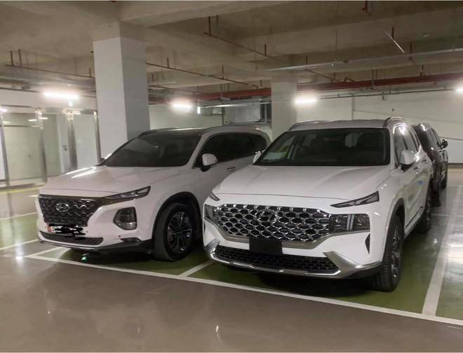 Thêm loạt xe Hyundai SantaFe bản nâng cấp bị bắt gặp trên xe thớt tại Hà Nội - 2