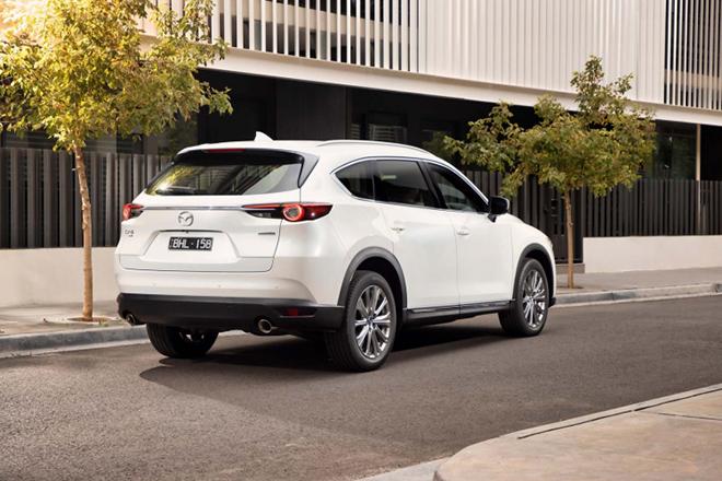 Mazda CX8 có thêm bản 6 chỗ tại một số thị trường - 3