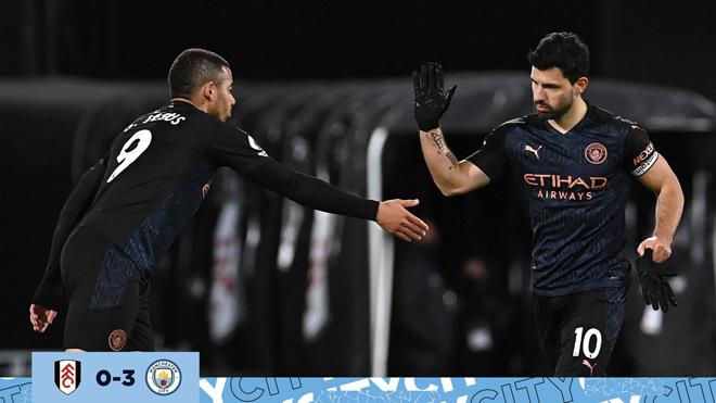 Video Fulham - Man City: Hiệp 2 bùng nổ, Aguero tìm lại bản năng - 3