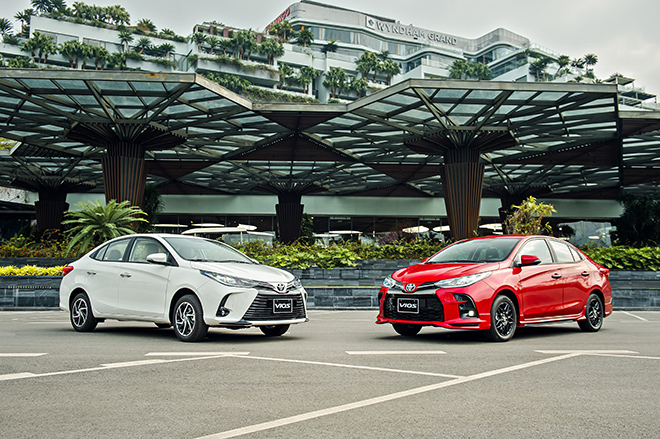 Giá lăn bánh Toyota Vios tại VN, thấp nhất 478 triệu đồng - 1