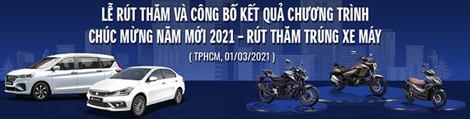 """Kết quả bốc thăm chương trình """"Chúc mừng năm mới – Rút thăm trúng xe máy"""" của Suzuki - 1"""