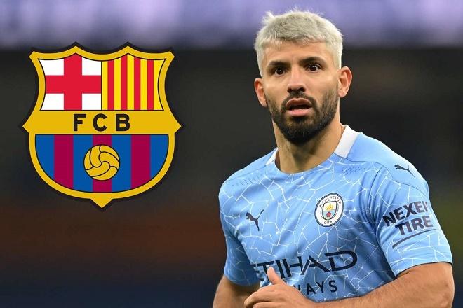Tin mới nhất vụ Barca mua Aguero: Ký hợp đồng 2 năm, Messi sẽ ở lại? - 1