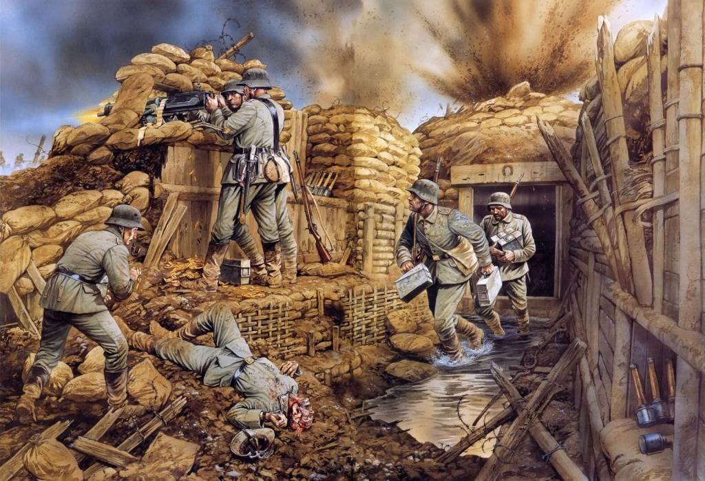 Kinh hoàng hàng triệu con chuột to như mèo khiến binh sĩ Thế chiến I khổ sở - 1