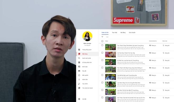 Ẩn hết video, Thơ Nguyễn xin lỗi em nhỏ và phụ huynh - 1