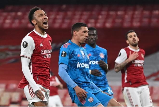 Kết quả Europa League Arsenal - Olympiakos: Siêu sao vô duyên, đòn trừng phạt phút 51 - 1