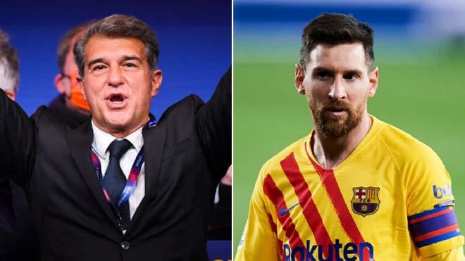 """Tân chủ tịch Barca có mẹo độc """"trói chân"""" Messi suốt đời: M10 có đổi ý? - 1"""
