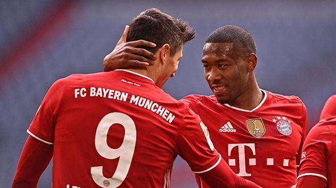 Video Bayern Munich - Stuttgart: Thẻ đỏ bất ngờ, hat-trick gây choáng váng - 1