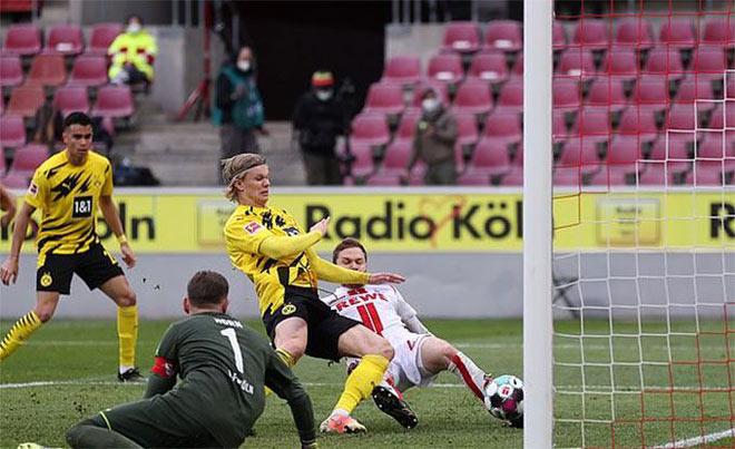 """Haaland hóa """"Vua sân khách"""" Bundesliga, lập kỳ tích vượt bố đẻ mình - 1"""