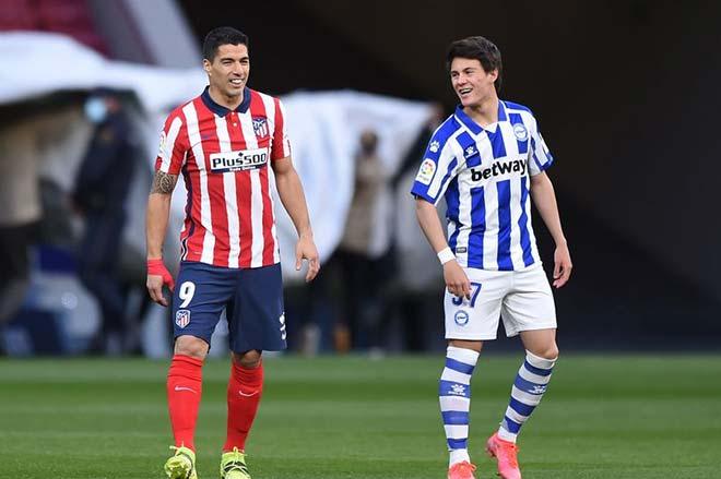 SAO MU Pellistri khuấy đảo Atletico Madrid: Suarez tấm tắc, fan khen hơn Daniel James - 1