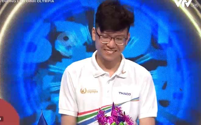 """Nam sinh đặc biệt nhất """"Đường lên đỉnh Olympia 2021"""" giành vé vào chung kết - 1"""