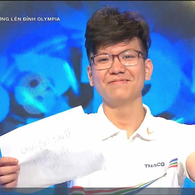 Đi thi Olympia, nam sinh Hà Nội kiếm được bạn gái xinh như mộng - 1