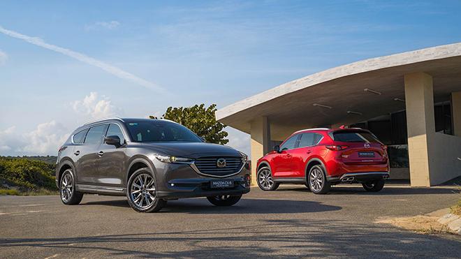 Giá xe Mazda CX-8 lăn bánh tháng 3/2021 - 1