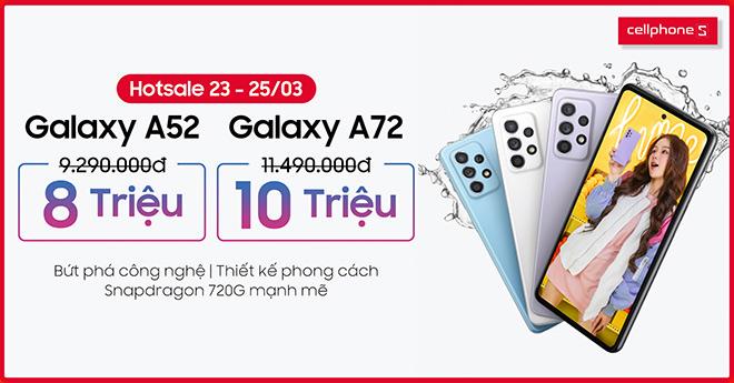 Galaxy A52 và A72 ra mắt cùng ưu đãi giảm đến 1.5 triệu đồng tại CellphoneS - 1