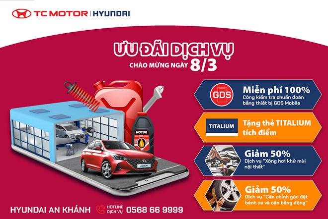 Hyundai An Khánh – ưu đãi dịch vụ tri ân khách hàng - 1