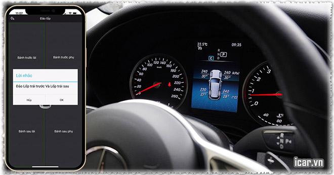 """Mercedes Benz """"bản thiếu"""" vẫn lắp được cảm biến áp suất lốp zin? - 2"""
