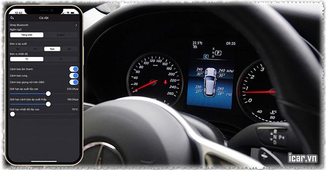 """Mercedes Benz """"bản thiếu"""" vẫn lắp được cảm biến áp suất lốp zin? - 3"""