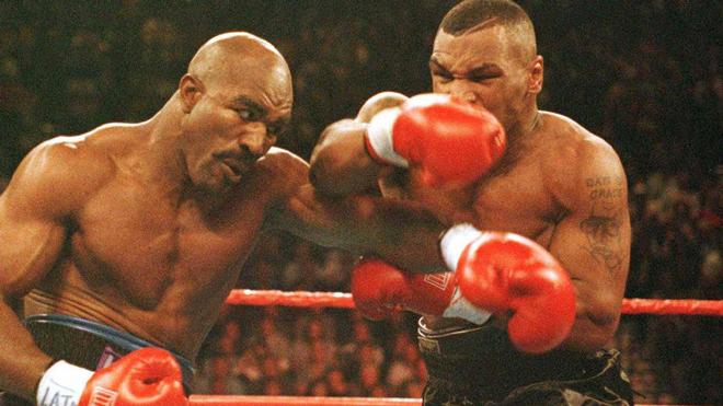 """Tay đấm thép Mike Tyson """"lật kèo"""", tính sổ Evander Holyfield vào 29/5 - 1"""