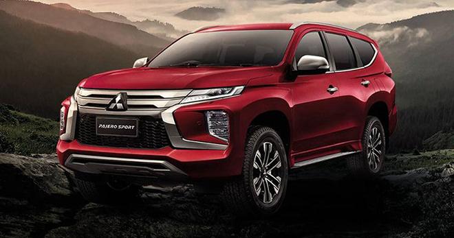 Ra mắt Mitsubishi Pajero Sport 2021 Passion Red Edition, giá từ 971 triệu đồng - 1