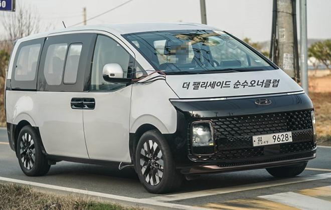 Dòng xe MPV mới của gia đình Hyundai bị bắt gặp trên đường thử - 4