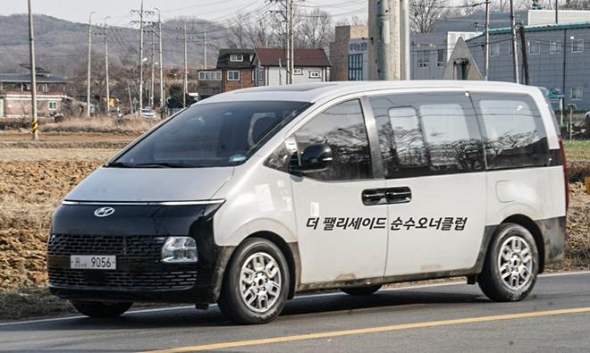 Dòng xe MPV mới của gia đình Hyundai bị bắt gặp trên đường thử - 3