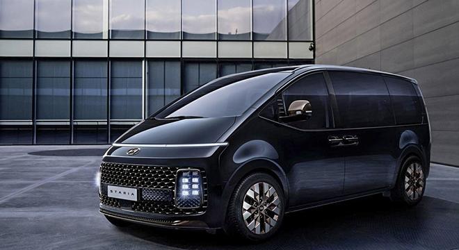 Dòng xe MPV mới của gia đình Hyundai bị bắt gặp trên đường thử - 1