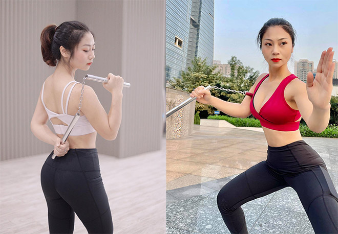 Hot girl tập Gym Giao Nhi cuồng võ vì lý do không ngờ, giỏi cả chục môn thể thao - 1