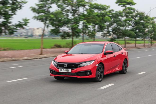 Giá xe Honda Civic lăn bánh tháng 3/2021 - 1