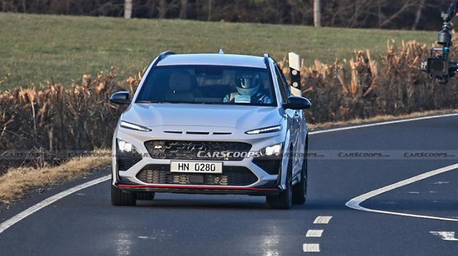 Hình ảnh đầu tiên về chiếc Hyundai KONA mới bản hiệu suất cao - 4