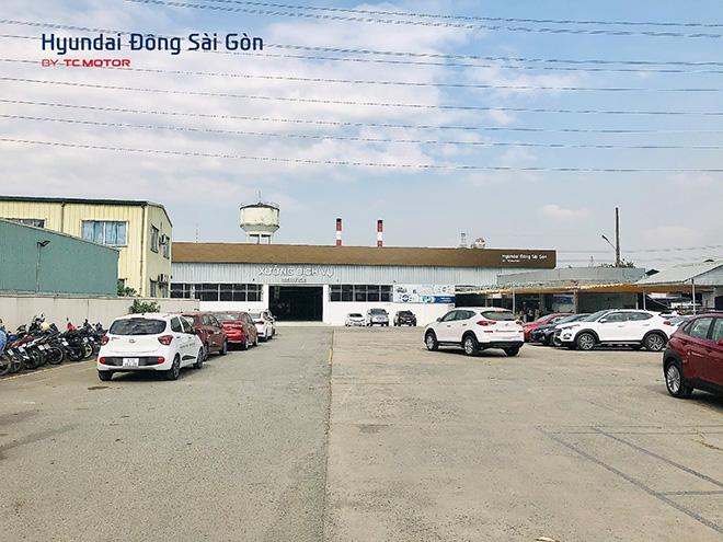 Xưởng dịch vụ 2S Hyundai Đông Sài Gòn nhanh chóng, chuyên nghiệp - 1