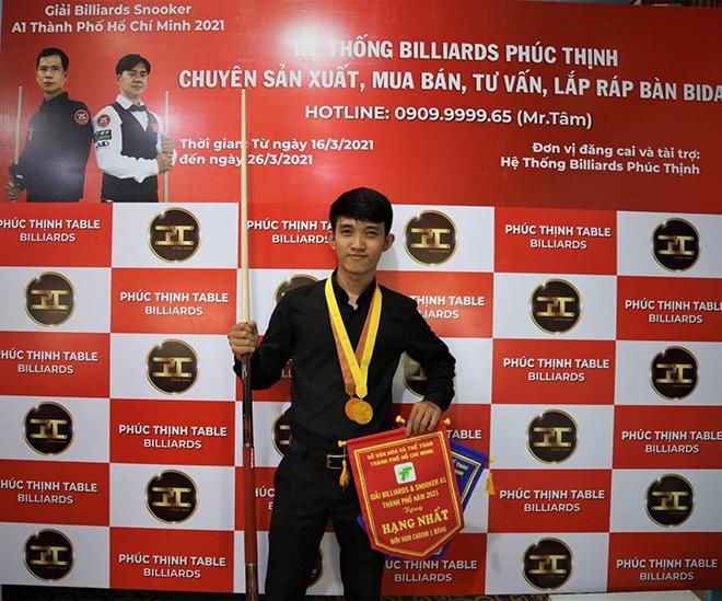 Bida Phúc Thịnh tài trợ Giải đấu A1 Billiards & Snooker TP HCM - 1