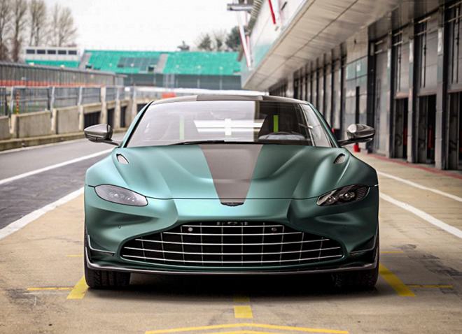 Aston Martin Vantage F1 Edition phiên bản đặc biệt trình làng - 1