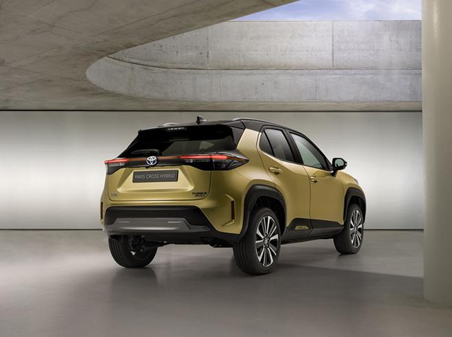 SUV mang hơi hướng việt dã Toyota Yaris Cross Adventure 2021 ra mắt - 5