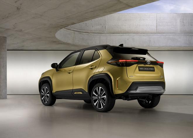 SUV mang hơi hướng việt dã Toyota Yaris Cross Adventure 2021 ra mắt - 6