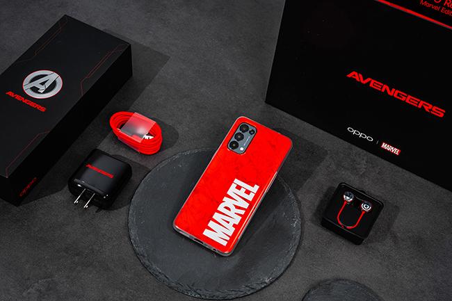 Oppo chính thức ra mắt chiếc điện thoại phiên bản đặc biệt Oppo Reno5 Marvel Edition được phát triển dựa trên sự hợp tác giữa Oppo và Marvel.