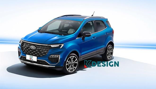 Xem trước thiết kế Ford EcoSport thế hệ mới - 1